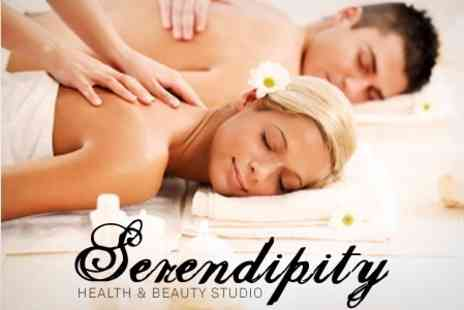 Serendipity Health and Beauty Studio - Full Body Massage For Two - Save 71%