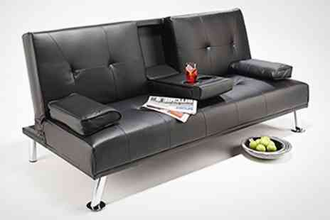 World of Sofa Beds - 'Havana' or 'Cinema' Sofa Bed in Black or Brown - Save 63%