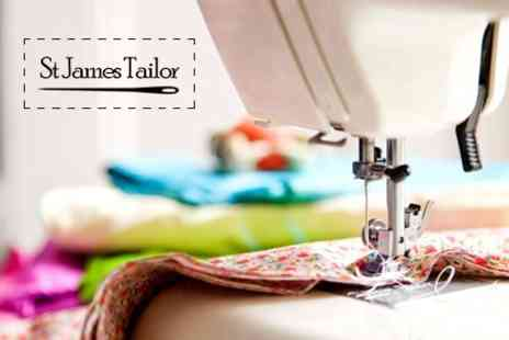 St James Tailor - Clothing Alterations - Save 50%