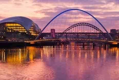 Ramada Encore - In Gateshead Quayside One Night Stay For Two With Breakfast and Parking - Save 43%