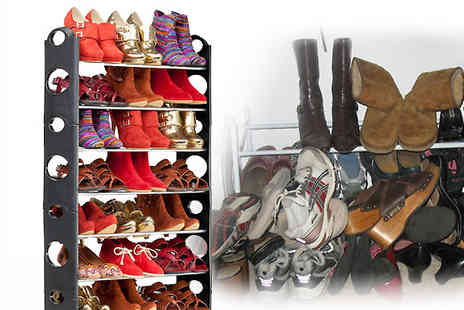 SvB Shops - The amazing Shoe Rack the answer to your shoe storage chaos - Save 54%