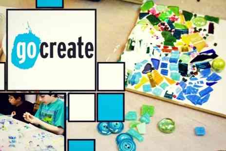 Go Create - Introduction to Mosaic Making For One - Save 57%