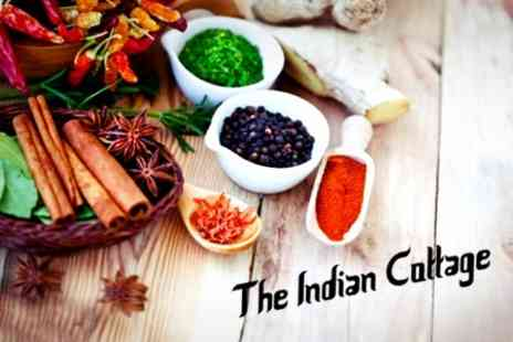 The Indian Cottage - Indian Meal Two Courses - Save 61%