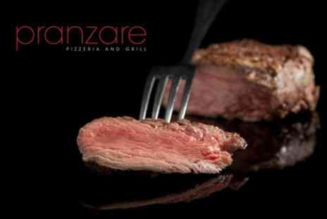 Pranzare - Fillet Steak Dinner For Two - Save 58%
