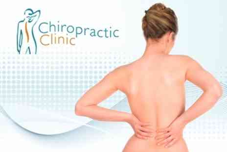 Chiropractic Clinic Marlow - Three Chiropractic Sessions - Save 78%