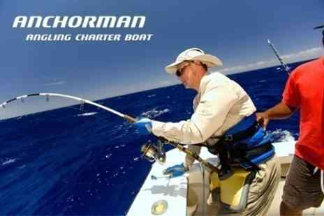 Anchorman Charter - Sea Fishing Trip With Tuition, Equipment and Hot Dogs - Save 50%