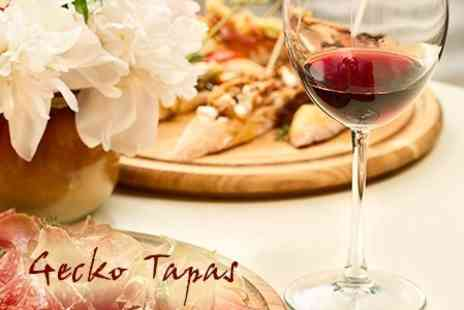 Gecko Bar - Tapas For Two With Wine - Save 58%