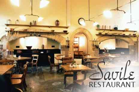 Savile Restaurant - Two Course Meal - Save 51%