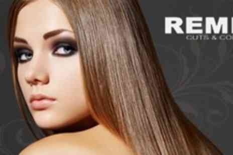 Remix Cuts and Colours - Brazilian Keratin Treatment With Wash Plus Cut - Save 79%