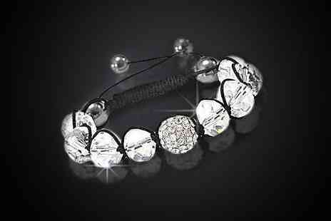 Antwerp Jewels - Crystal bracelet made with SWAROVSKI ELEMENTS - Save 94%
