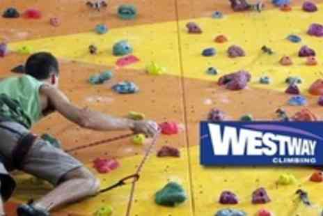 Westway Sports Centre - One Hour Wall Climbing Taster Session - Save 60%