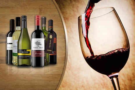 Oakbridge - Case of 6 hand selected bottles of red or white, or a case of mixed bottles including Prosecco - Save 56%