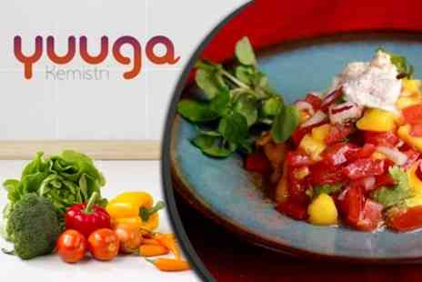 Yuuga Kemistri - Mexican Fiesta Raw Cookery Class - Save 67%