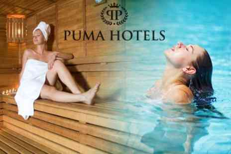 Puma Carlton Hotel Spa - Ten One Day Leisure and Fitness Club Passes - Save 50%