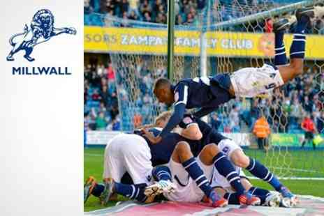 Millwall Football Club - Two Tickets to Millwall FC vs. Nottingham Forest  - Save 57%
