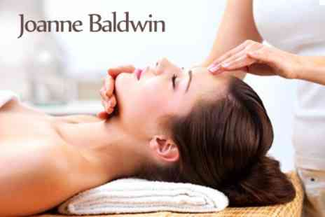 Joanne Baldwin - Indian Head Massage One - Save 50%