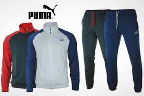Born on the Streets - Puma Tracksuit - Save 58%
