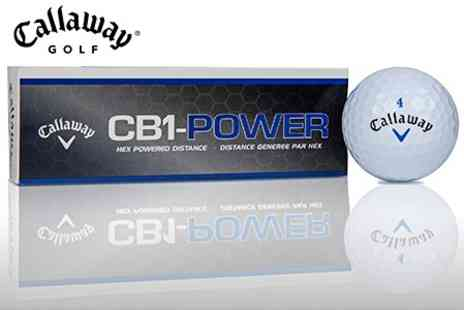Golfonline.co.uk - 24 Callaway CB1 Golf Balls - Save 26%