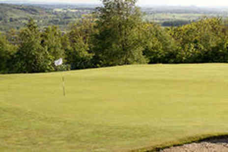 Kilsyth Lennox Golf Club - 18 Holes of Golf for Two with Soft Drink Each - Save 70%