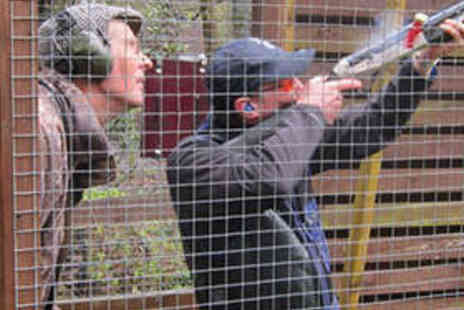 Manchester Clay Shooting Club - Clay Pigeon Shooting Experience for One or Two - Save 68%