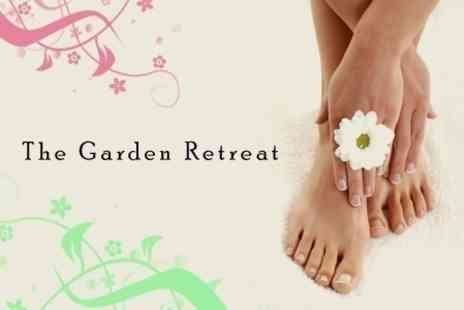The Garden Retreat - Jessica GELeration Manicure and Pedicure - Save 62%