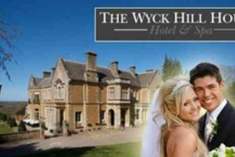 Wyck Hill House Hotel & Spa - Wedding Package With Three Course Breakfast and Reception For Up to 60 Guests - Save 61%