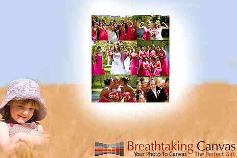 Breathtaking Canvas - 16 x 20 inch 6 photograph canvas montage - Save 71%