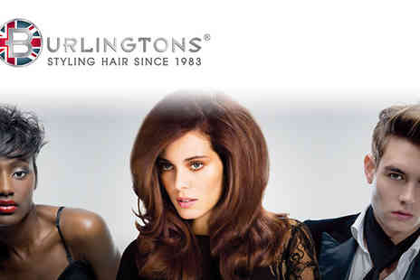 Burlingtons - Get gorgeous, glossy locks that will brighten even the darkest winter days with this full treatment full wash, cut, blow dry and half head highlights. - Save 80%