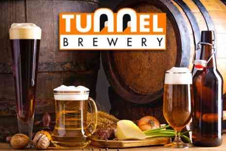 The Tunnel Brewery - Brewery Tour For One With Ale Tasting and Buffet - Save 25%