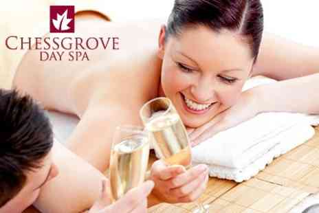 Chessgrove Day Spa - Half Day Spa Package With One Treatments For Two, Plus Champagne and Food - Save 45%