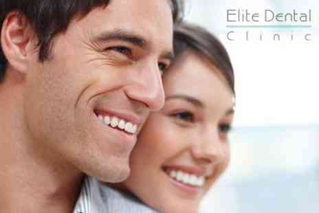 Elite Dental Clinic - Ultrasonic Scale and Polish With Dental Examination Plus X Ray - Save 86%