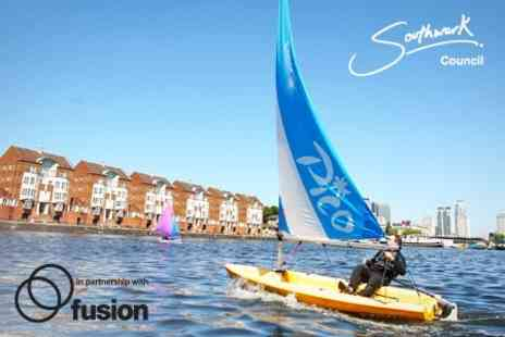 Surrey Docks Watersports Centre - Taster Session With Sailing and Kayaking - Save 44%