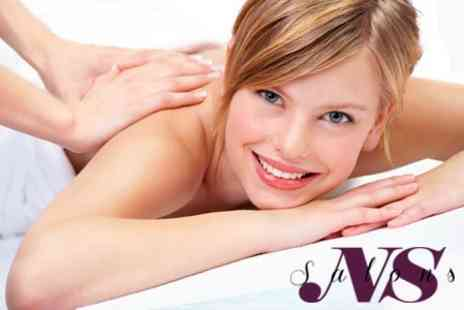 NS Salons St Albans - Massage Plus OPI Manicure or Express OPI Pedicure or Indian Head Massage - Save 62%