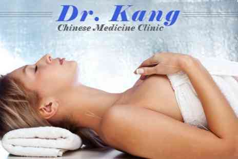 Dr Kang Chinese - Massage and Acupuncture - Save 25%