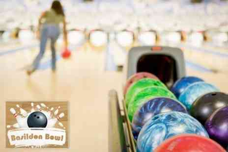 Basildon Bowl - Ten Pin Bowling For Up to Six People With Food and Soft Drink - Save 76%