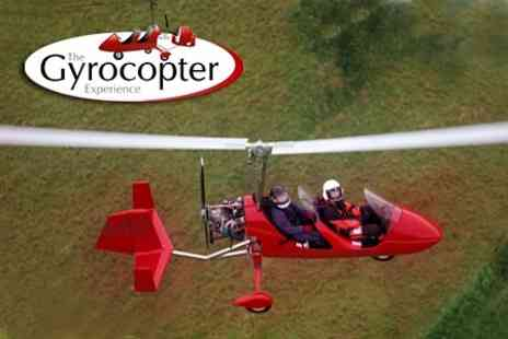 The Gyrocopter Experience - Gyrocopter Buzz Flight With Tour - Save 40%