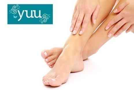 Yuu - IPL For Nail Fungus Treatment Three Sessions For Up to Five Toes - Save 76%