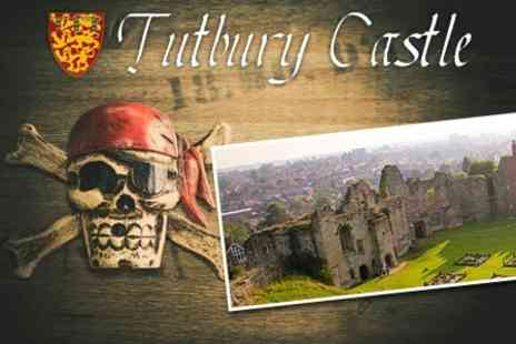 Tutbury Castle - Pirate Weekend One Day Entry For Four - Save 60%