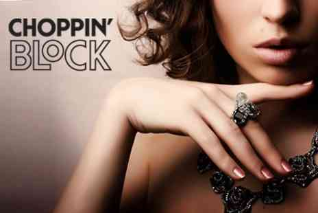 Choppin Block - Luxury Manicure With Hand Massage - Save 55%