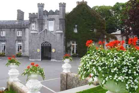 Abbey Hotel - In Roscommon One Night 4star Stay For Two With Sparkling Wine, Chocolates, Breakfast and Late Check Out - Save 67%
