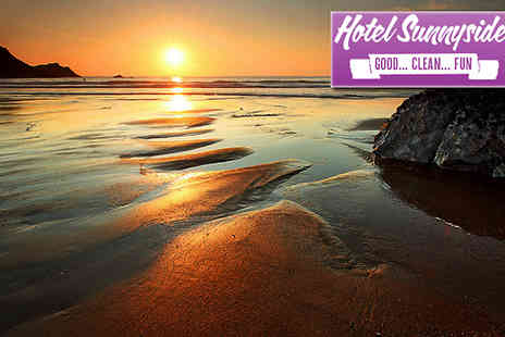 Hotel Sunnyside - Surfs up from as little as £85 per person; 3 or 4 nights in Newquay with surfing lessons & full English breakfast each morning. - Save 67%
