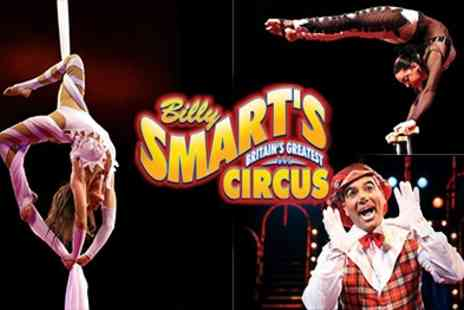 New World Circus - Billy Smarts Circus Ticket - Save 60%