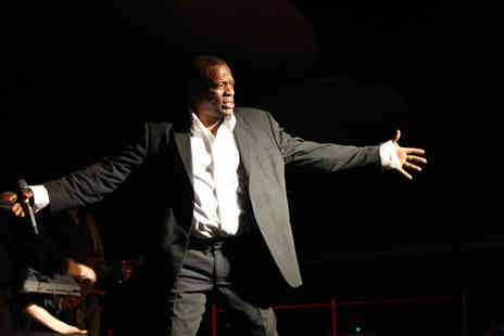 Envi - Ticket to a soul and motown event with Alexander ONeal - Save 50%