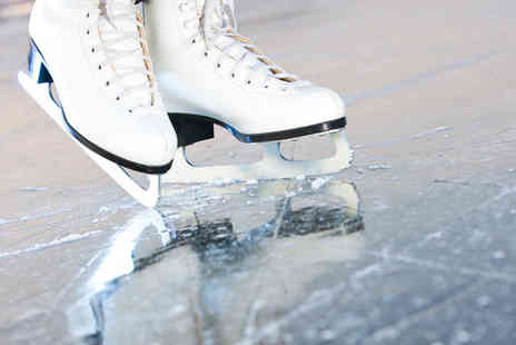Ice Quest - One hour ice skating session for 2 inc skate hire - Save 61%