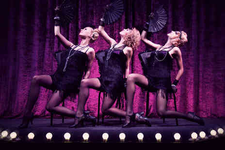 Rock City - Two tickets to the Black Cherry burlesque show inc glass of bubbly - Save 61%