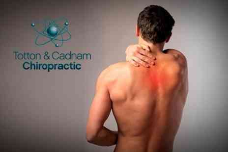 Totton and Cadnam Chiropractic - Two Chiropractic Sessions Plus Consultation - Save 84%