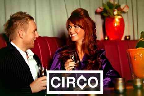 Circo - Private Booth With Premium Spirit, Mixers and Snacks - Save 34%