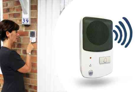 Good Ideas - 2 Way Wireless Intercom Doorbell System - Save 43%
