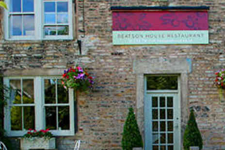 Beatson House Restaurant - Two Course  Meal for Two with Dessert Liqueur - Save 51%