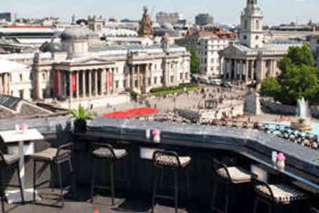 The Trafalgar - Rooftop Dining for Two with Wine - Save 52%